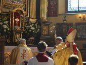 Msza Święta dziękczynna z okazji 670. rocznicy powstania parafii