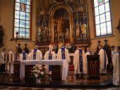 Msza Święta na rozpoczęcie 39. Przemyskiej Archidiecezjalnej Pieszej Pielgrzymki na Jasną Górę