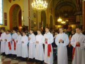 Przyjęcie do liturgicznej służby ołtarza i scholi parafialnej