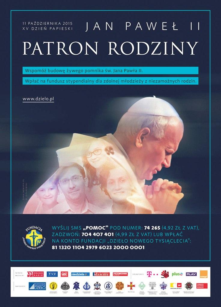 15dzien papieski plakat