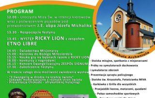 Plakat festyn sw Krzysztof 2017